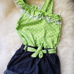 Little Lass Girls Romper